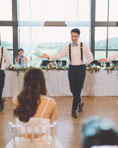 Surprise Groomsmen Dance at Swaneset